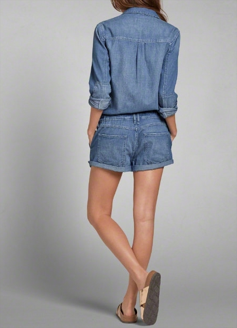 キュート  DENIM JUMPSUIT