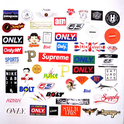 Supreme OnlyNY BOLT LOOK NIKE 55DSL Alife stickers Lucky bag