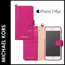★3-7日着/追跡&関税込【即発・MICHAEL KORS】iPhone7Plus Folio