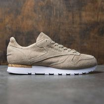 【送料無料】REEBOK MEN CL LEATHER (BROWN / OATMEAL DRIFTWOOD