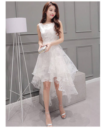 Cute adult whitefish tail dress