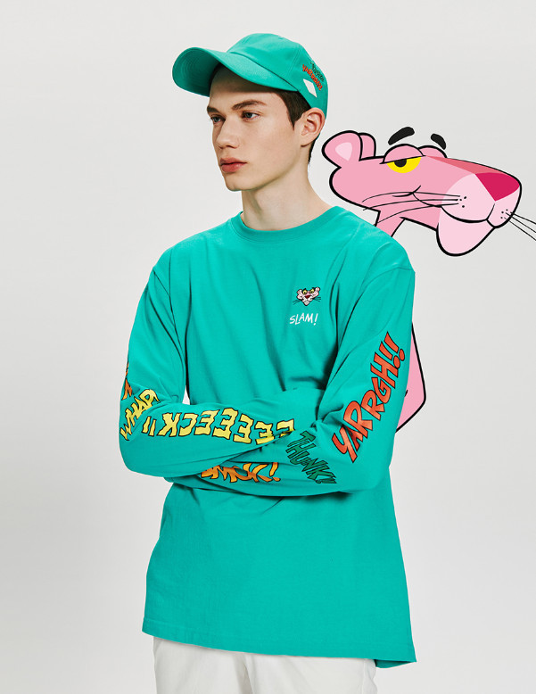 [Stero Vinyls Collection] [Pink Panther] Comics Long Sleeve