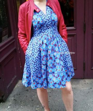 kate spade new york ワンピース 【kate spade】モロッコ☆tangier floral fit and flare dress☆(10)
