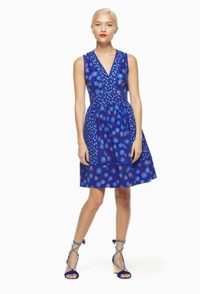 kate spade new york ワンピース 【kate spade】モロッコ☆tangier floral fit and flare dress☆(2)