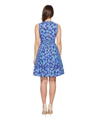kate spade new york ワンピース 【kate spade】モロッコ☆tangier floral fit and flare dress☆(9)