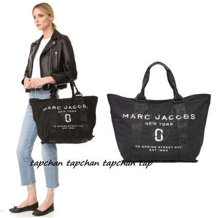 NEW!関税込国内送 Marc Jacobs New Logo Denim Tote