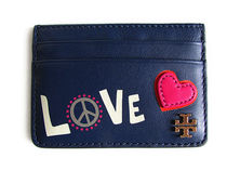 【返品可/国内発送】Tory Burch PEACE SLIM CARD CASE