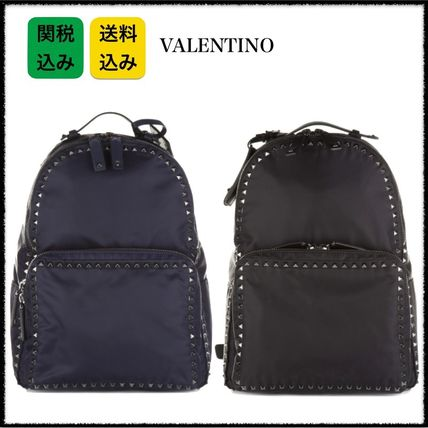 国内発★VALENTINO Rockstud nylon backpack ロックスタッズ