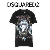 D SQUARED2 ★ BUFFALO PRINTING LIVE TOUR ROUND 半袖 Tシャツ