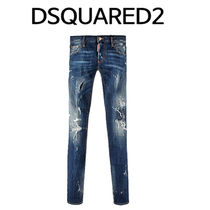 D SQUARED2 ★ 74LB0080 S30342 470 PAINTING SLIM JEANS
