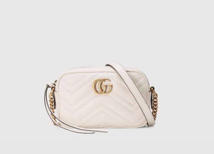 GUCCI ショルダーバッグ・ポシェット GUCCI 新作 GG Marmont  ミニバッグ 即発 他6色買い付け可能(5)