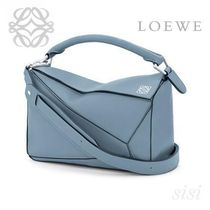 LOEWE★ロエベ Puzzle Small Bag Stone Blue