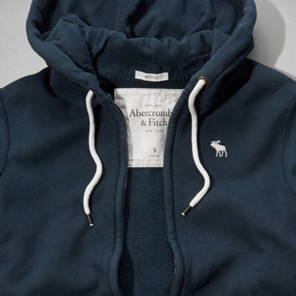 Abercrombie & Fitch パーカー・フーディ AUSABLE RIVER HOODIE  ネイビー(3)