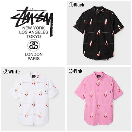 STUSSY 17SS popular GOOD FROM ANY ANGLE SHIRT