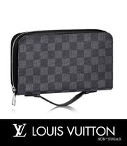 Louis Vuitton(ルイヴィトン) 雑貨・その他 【国内発送】LOUIS VUITTON ジッピーXL ダミエ・グラフィット