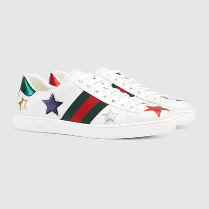 Ace low-top GUCCI sneakers-white