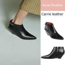 ACNE Carrie ankle boots ウェッジヒール西欧風アンクルブーツ