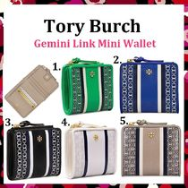 期間限定セール Tory Burch Gemini Link Mini Wallet ミニ財布