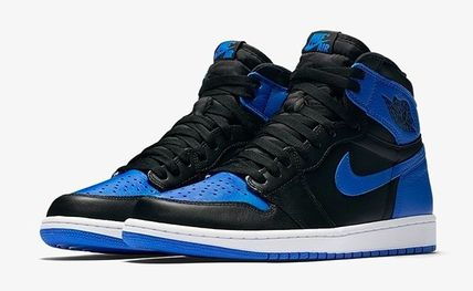 送料無料 NIKE AIR JORDAN 1 RETRO HIGH OG ROYAL ロイヤル 黒青