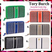 期間限定セール Tory Burch Gemini Link Zip Continental Wallet