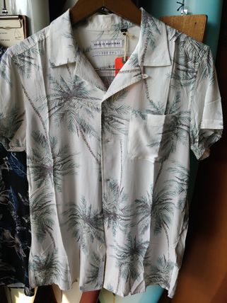 NEW Deus Palm trees shirt pattern Deus Magik Frond Shirt