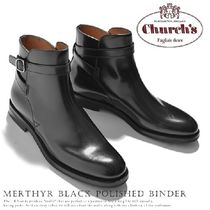 チャーチ Church's ベルト Merthyr Black Polished Binder