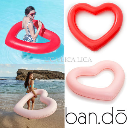国内在庫有・即納可 ban.do jumbo heart inner tube