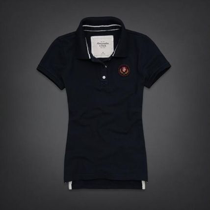 Abercrombie & Fitch ポロシャツ TRISTA POLO   embroidered logo が素敵
