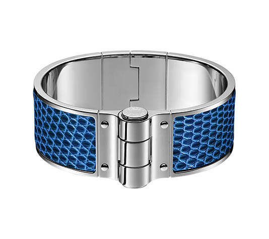 【HERMES】Bracelet a charniere cuir* ブレスレット