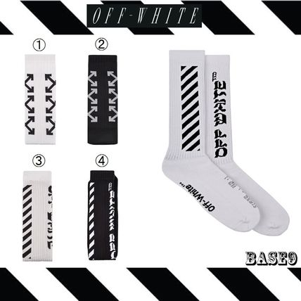 2017 SS OFF-WHITE Diag / Arrrows socks only
