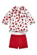 NEXT☆ 大人気 ・即発 Strawberry Sunsafe Swimsuit♪ 9~12M