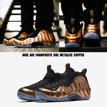 NIKE★AIR FOAMPOSITE ONE★メタリック COPPER