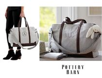 イニシャルOK!Herringbone Classic Diaper Bag☆pottery barn
