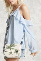 Forever21 Palm Tree プリント ショルダーバッグ