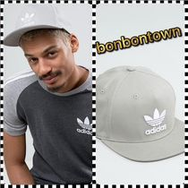 【国内発/送関込】adidas Originals Trefoil Flat Cap /Grey