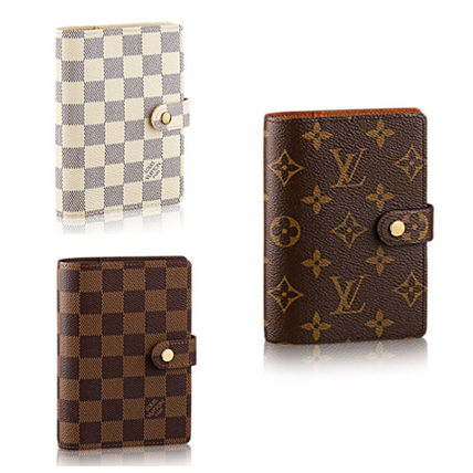 3 types Louis Vuitton diary cover shoppers with
