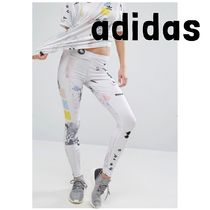 *UK発*adidas*国内発送*送関込*ポスタープリントレギンス