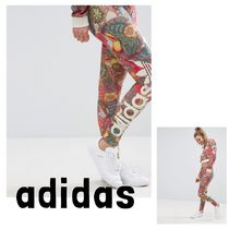 *UK発*adidas*国内発送*送関込*花柄レギンス