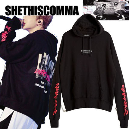 SHETHISCOMMA  SUBCULTURE HOOD T