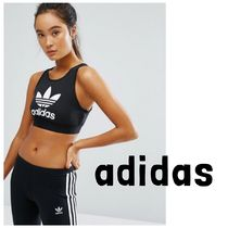 *UK発*adidas*国内発送*送関込*ロゴ入りスポーツブラ