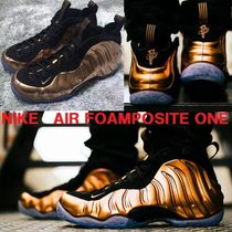 生誕20周年★NIKE AIR FOAMPOSITE ONE★BLACK×METALLIC COPPER