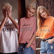 13MONTH(サーティーンマンス) Tシャツ・カットソー 17ss behind rose embroidery t-shirts★国内発送