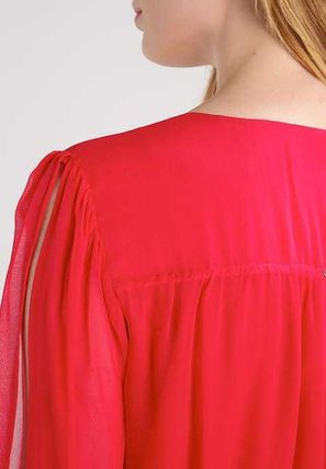 Guess ワンピース プチプラ☆MARCIANO GUESS ワンピース ドレス rose red お洒落(3)