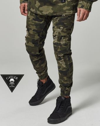 * CAYLER &SONS * damage processing biker CAMO Jogger