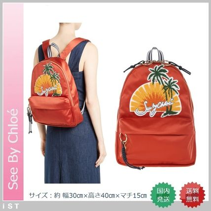 See by Chloe バックパック・リュック SEE BY CHLOE satin backpack シーバイクロエ バックパック