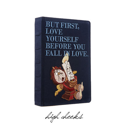 HIGH CHEEKS クラッチバッグ [Disney│highcheeks] Be Our Guest Storybook Clutch 国内発(11)