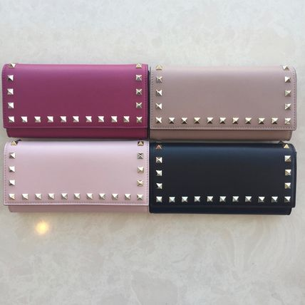 Arrive in 2-4 days 2017 SS Valentino rock Stud long wallet 4