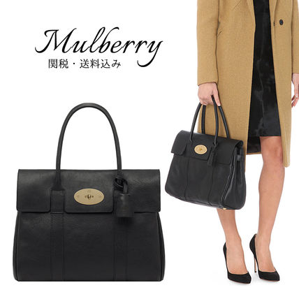 Mulberry トートバッグ 関税・送料込【Mulberry】ベイズウォータートートバッグ