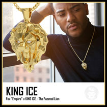 【King Ice】The Faceted Lionネックレス★送料税込/国内発送