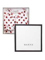 *GUCCI* 'Ladybird'プリントベビーギフト3点セット ギフトbox